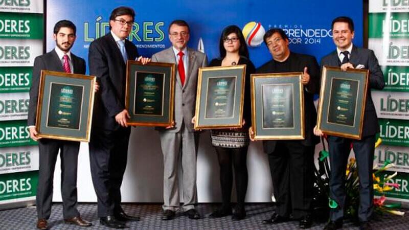El Comercio – Emotiva premiación a los emprendedores ecuatorianos