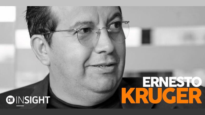 Nos Visitó: Ernesto Kruger, CEO de Kruger