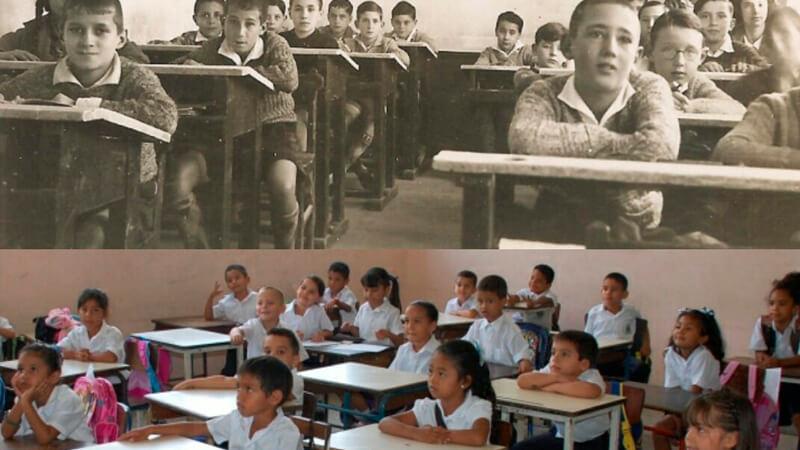 La educación sigue igual desde hace 100 años